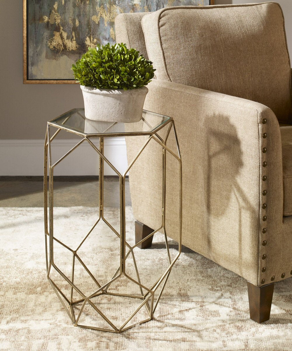 "24""H Sanders Contemporary Accent Table"