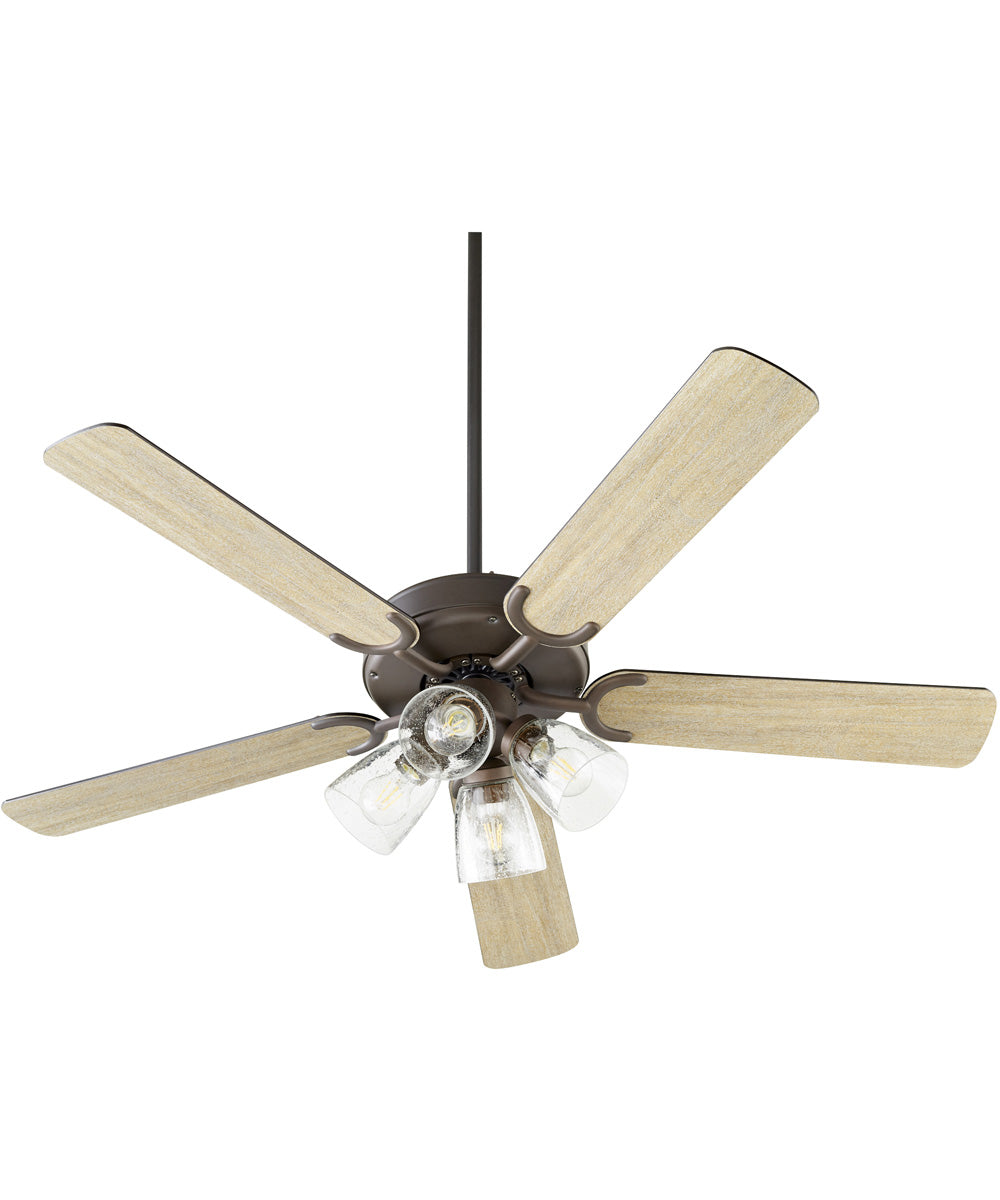 Virtue 4-light LED Ceiling Fan Oiled Bronze