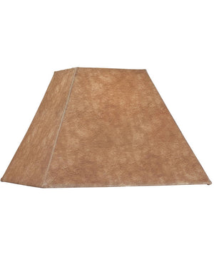 "6""W x 13""H Taupe Square Soft Back Shade"