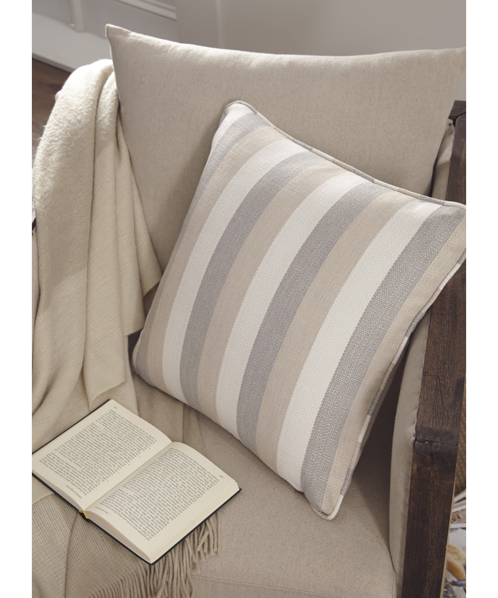 "20""W Mistelee Pillow Set of 4 Tan/Cream/Gray"