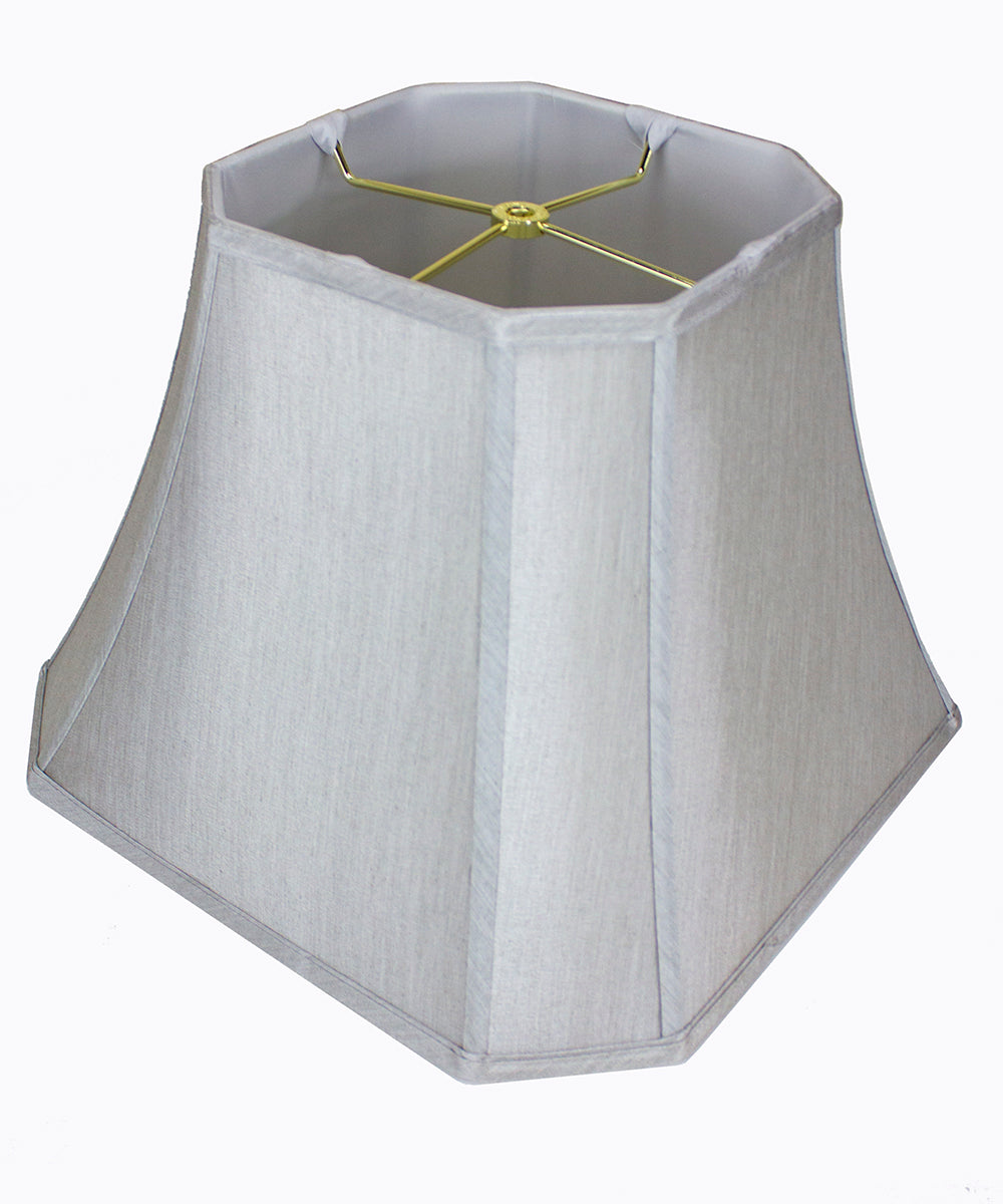 "16""W x 12""H Square Cut Corner Shade Gray"