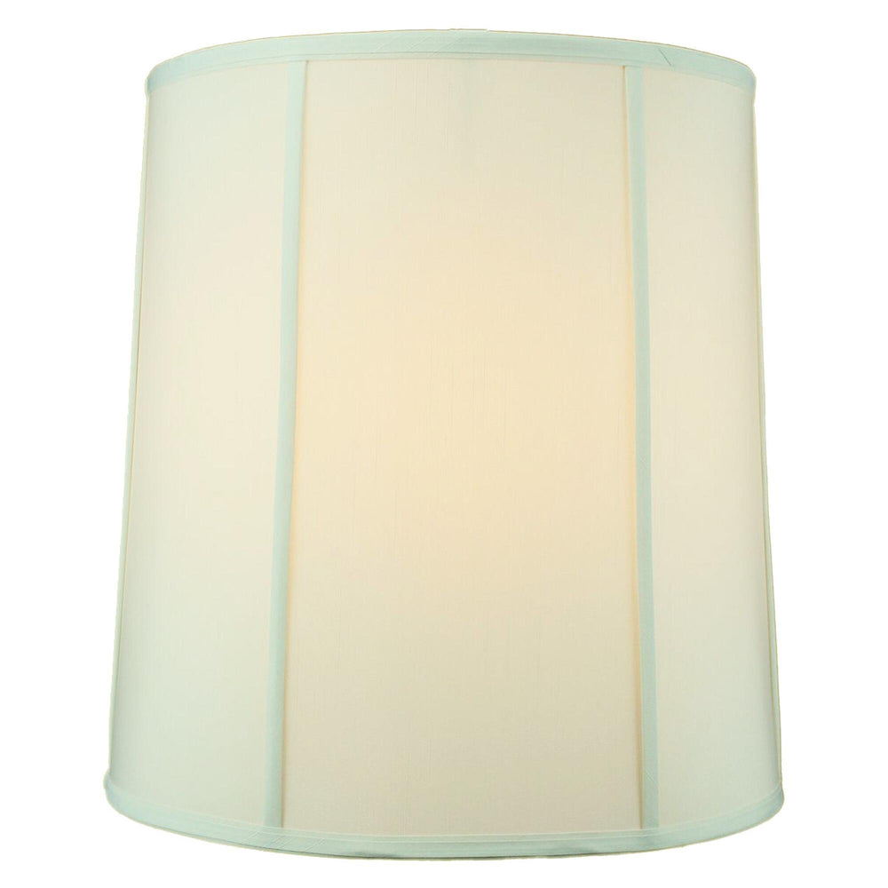 "18""W x 19""H Egg Shell Shantung Drum Lampshade"