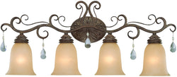0-005705>Englewood 4-Light Bath Vanity Light French Roast
