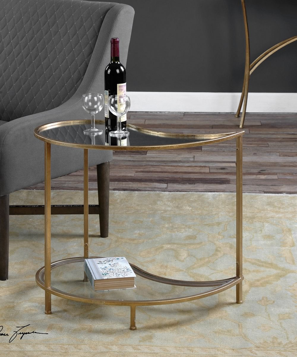 "24""H Darcie Teardrop Bunching Side Table"