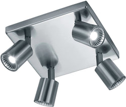 0-001137>Cayman LED Ceiling Light Nickel-Matte