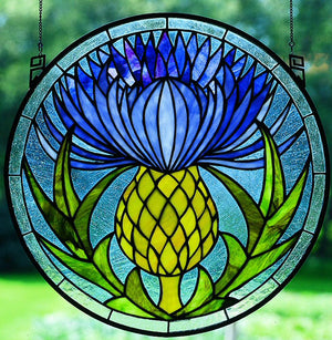 "17""H Thistle Window"