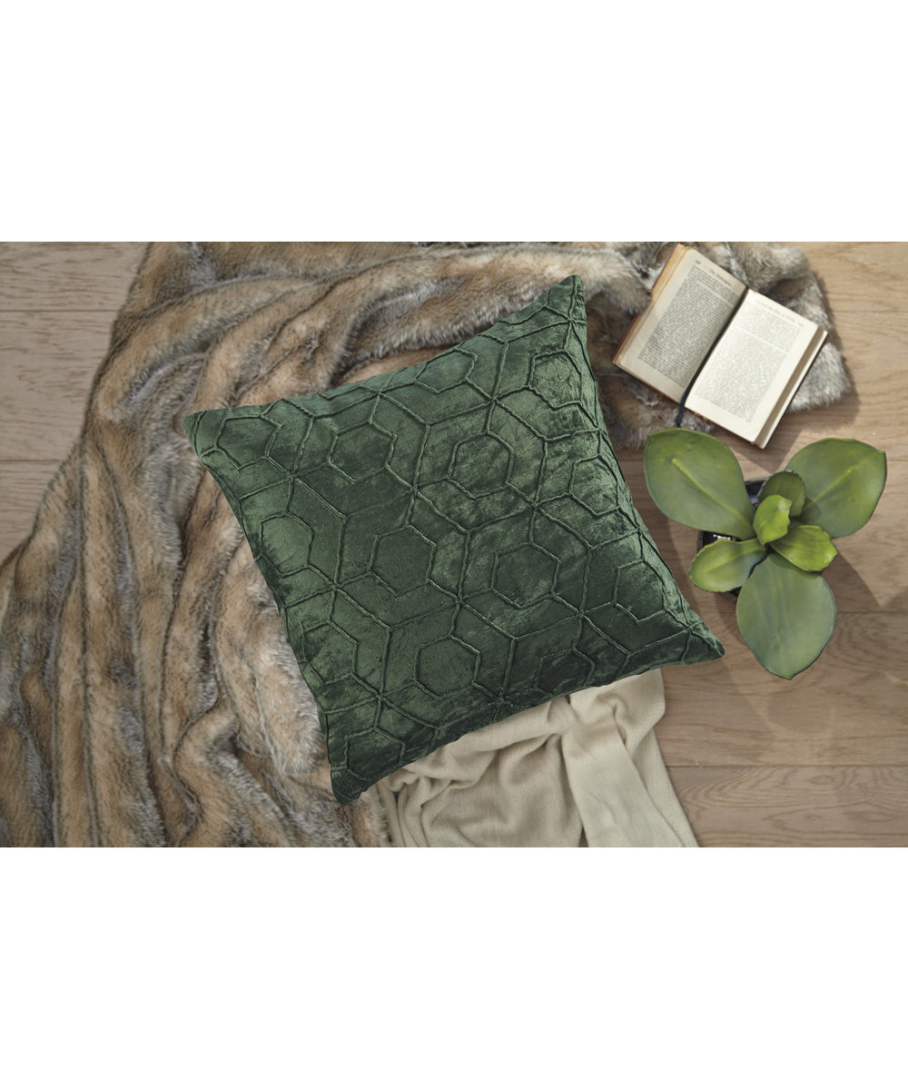 "20""W Ditman Pillow Set of 4 Emerald"