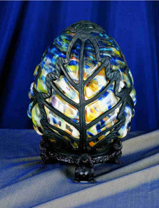 "9""H Castle Egg Accent Lamp"