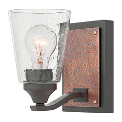 Jackson 1-Light Bath Sconce in Buckeye Bronze