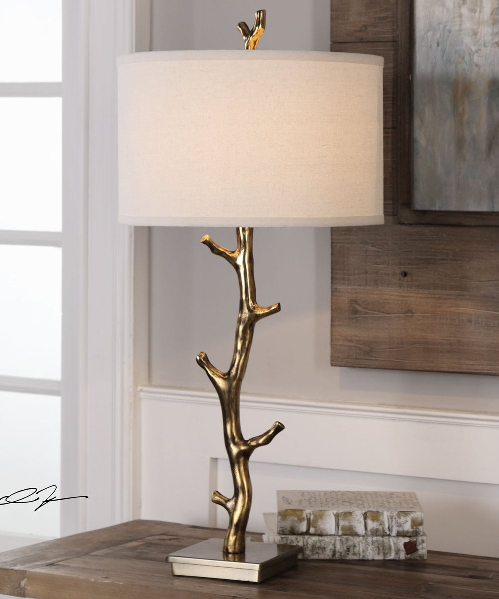 "34""H Javor Tree Branch Table Lamp"