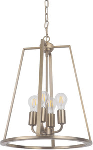0-003005>Arc 4-Light Foyer Light Satin Brass