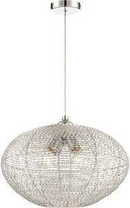 0-002180>Faviola 4-light Pendant Chrome