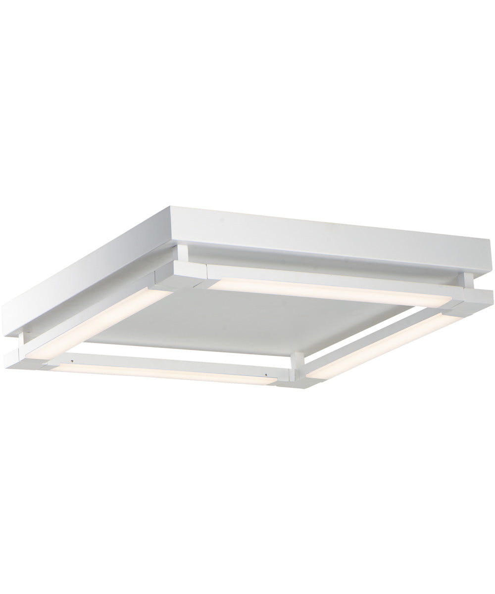 "20""W Rotator LED Flush Mount Matte White"