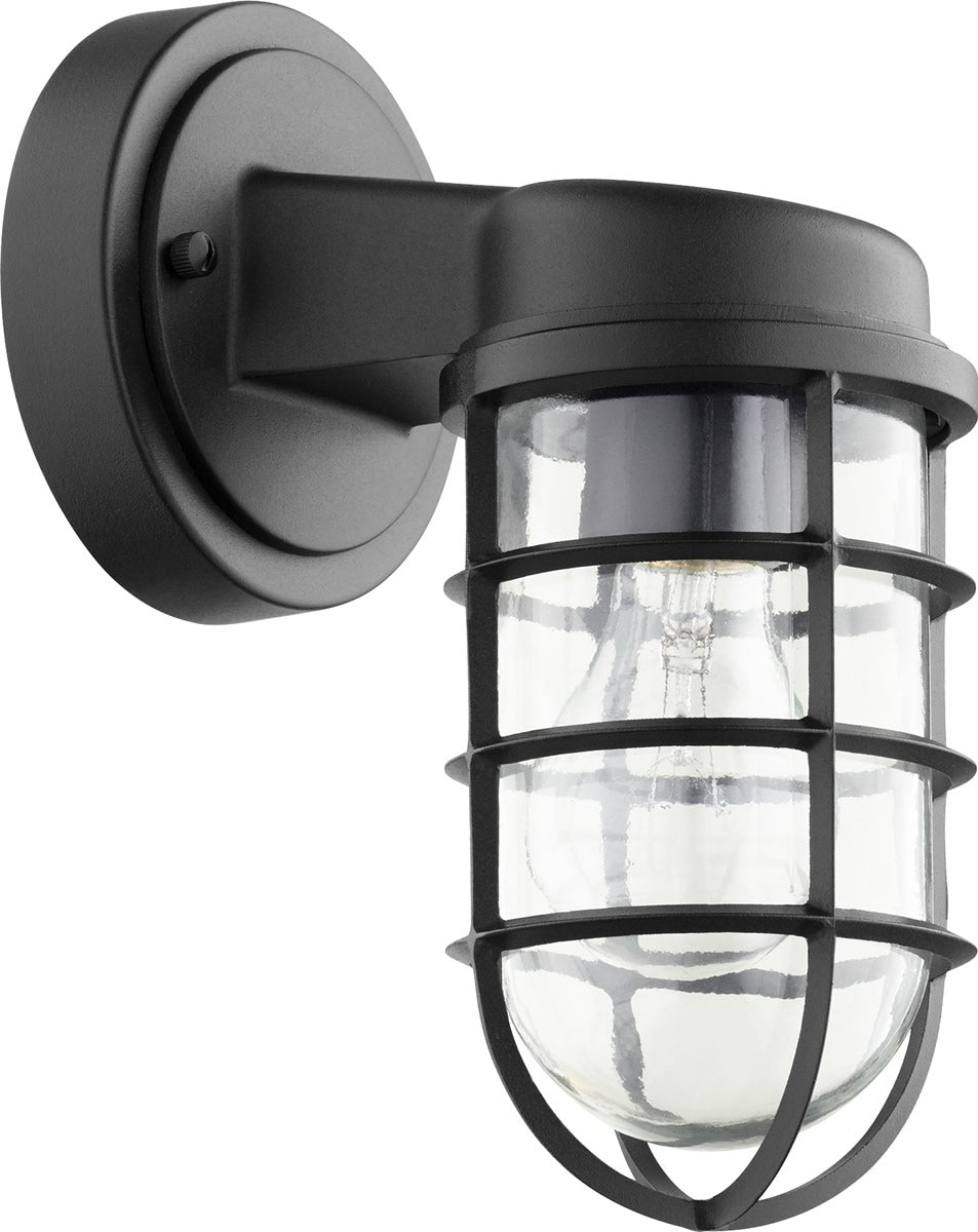 "10""H Belfour 1-light Wall Mount Light Fixture Noir"