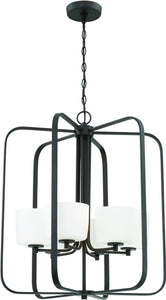 0-001814>Clarendon 6-Light Foyer Light Aged Bronze Brushed