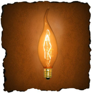 "1""W Restoration-Style Incandescent Replacement Bulb Clear"