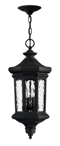 Raley 4-Light Outdoor Hanging Light in Museum Black