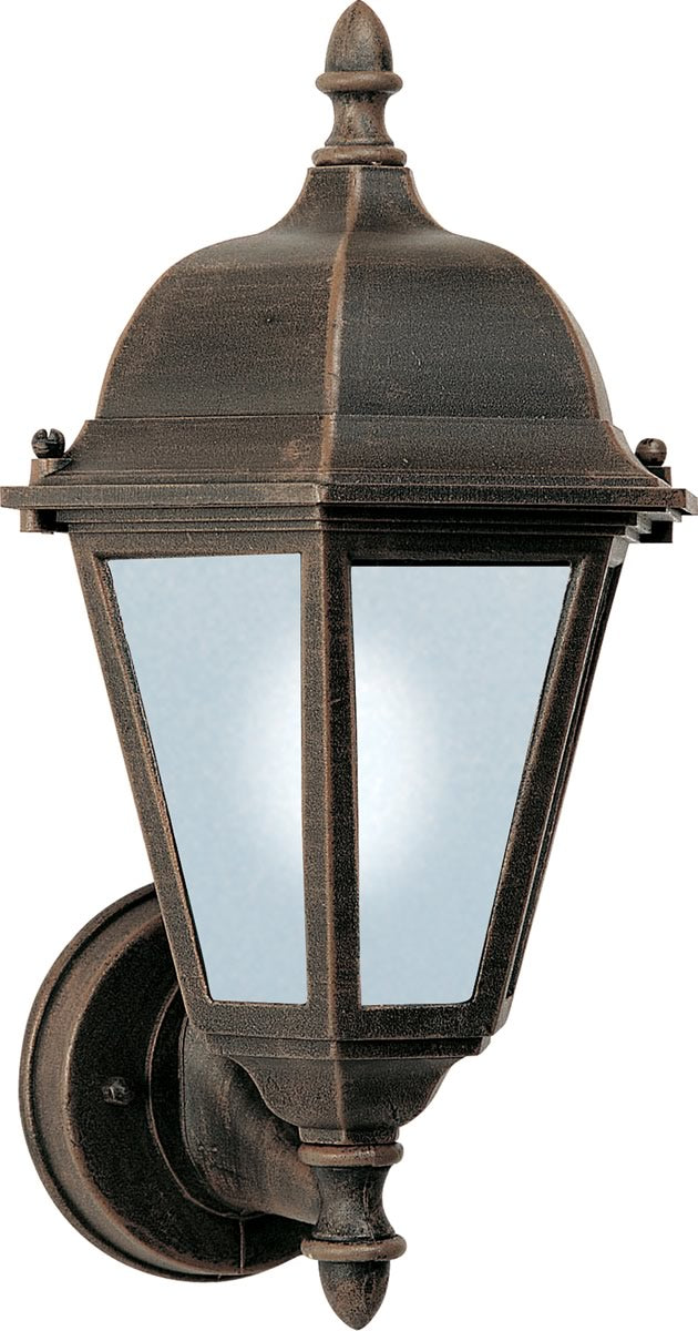 "15""H Westlake LED 1-Light Outdoor Wall Lantern Rust Patina"