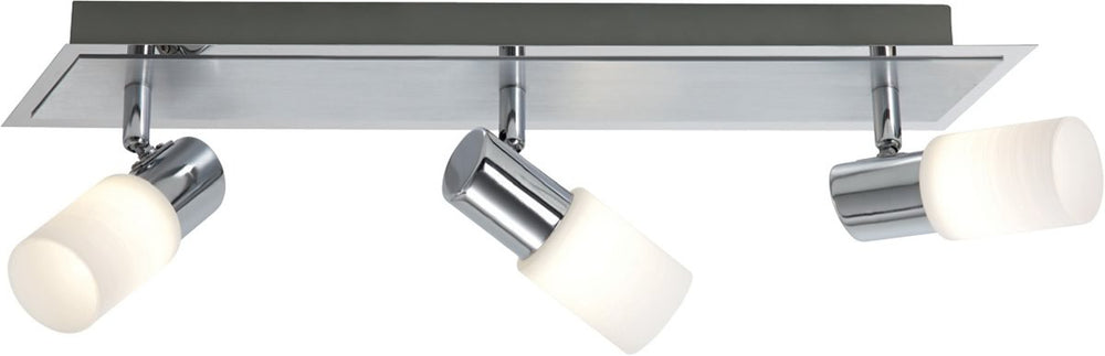 "3""W Dallas LED Ceiling Light Aluminum"