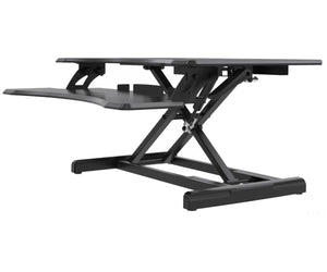 Premium Adjustable Height Standing Desk Black