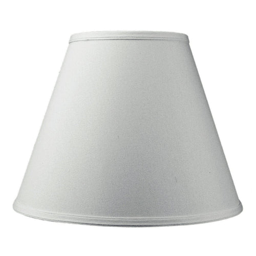 Yuan Feng Lighting 7x14x11 Hard Back Empire Lamp Shade White