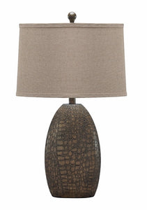Melvin Poly Table Lamp (Set of 2) Tan