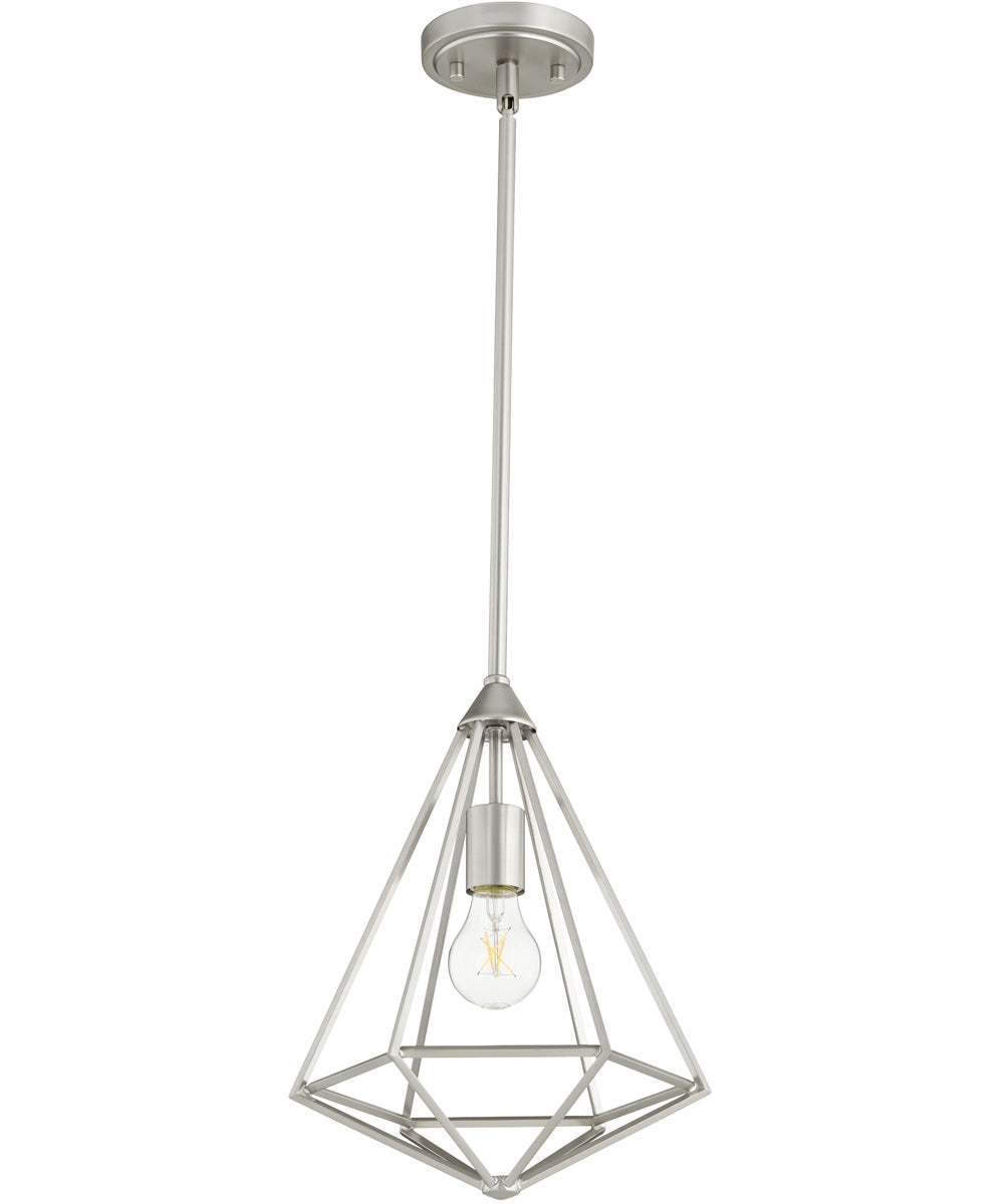 "11""W Bennett 1-light Pendant Satin Nickel"