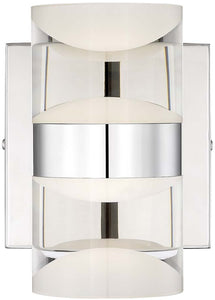 "5""w H2O LED Bathroom Light Chrome"