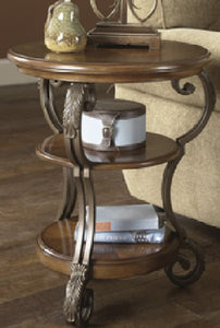 Nestor End Table Medium Brown