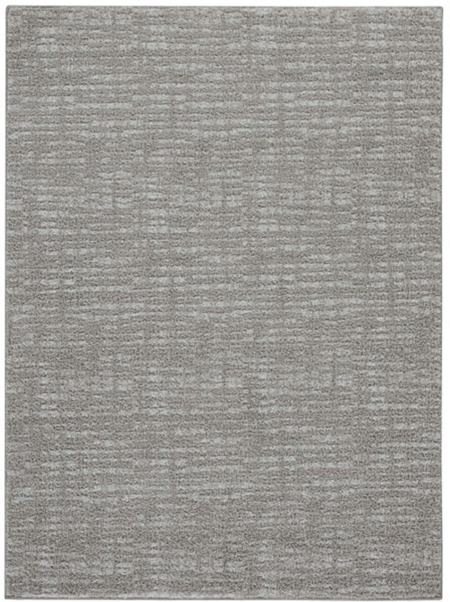 Norris Medium Rug Taupe/White 5x7