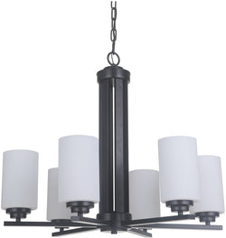 Albany 6-Light Chandelier Oiled Bronze