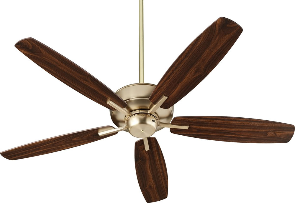 "52""W Breeze Ceiling Fan Aged Brass"
