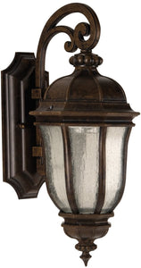 Harper LED 1-Light LED Outdoor Wall Light Peruvian Bronze