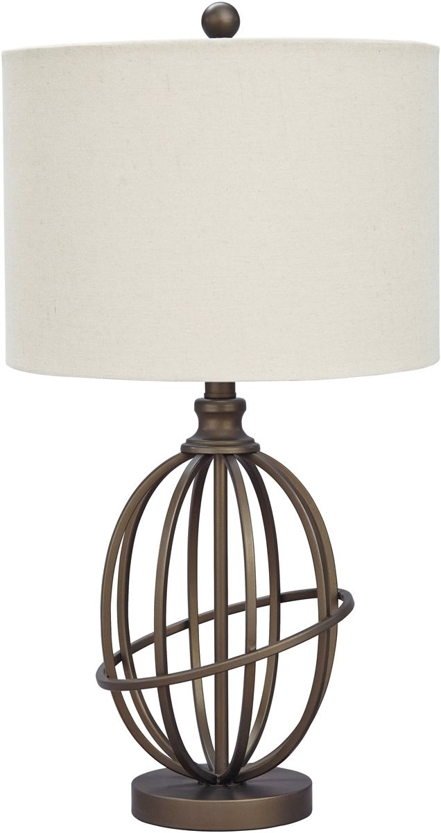 "26""H Manasa Metal Table Lamp (1/CN) Bronze"