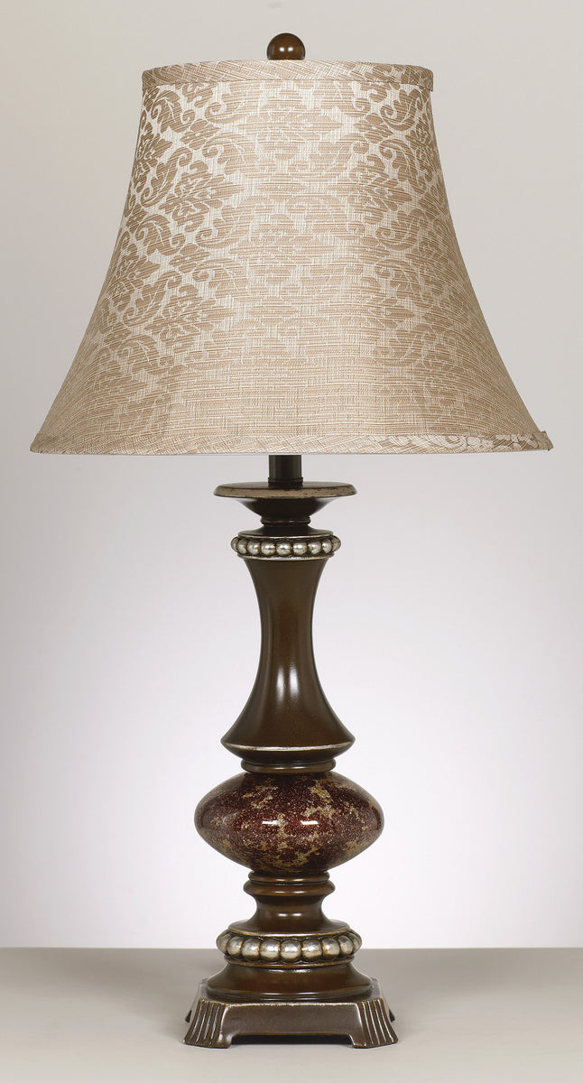 "31""H Set of 2 Rosemary Table Lamps Bronze"