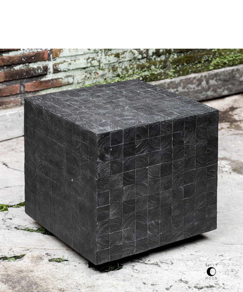 "18""H Ayasha Charcoal Accent Table"