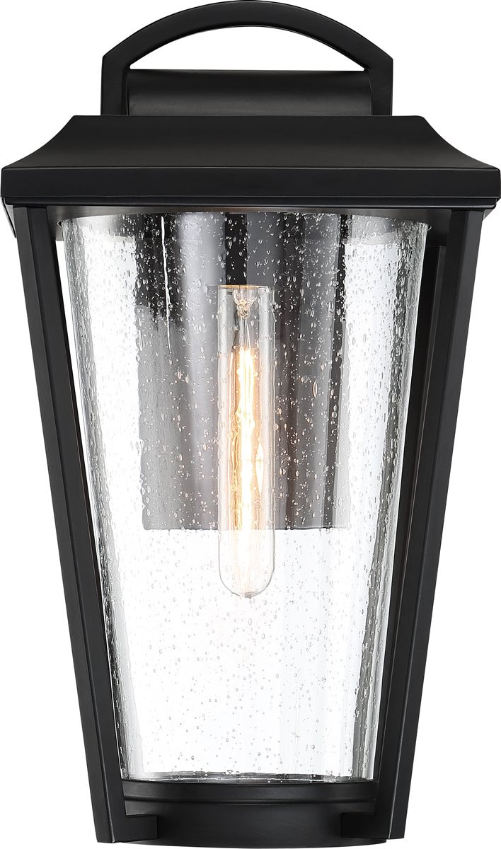 "12""H Lakeview 1-Light Outdoor Aged Bronze / Clear"