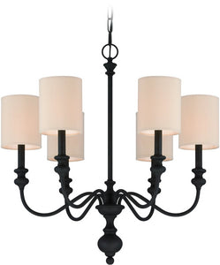 0-006490>Willow Park 6-Light Chandelier Gothic Bronze