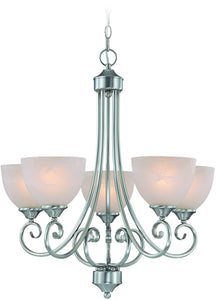 0-032977>Raleigh 5-Light Chandelier Satin Nickel