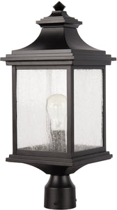 Gentry 1-Light Outdoor Post Light Midnight
