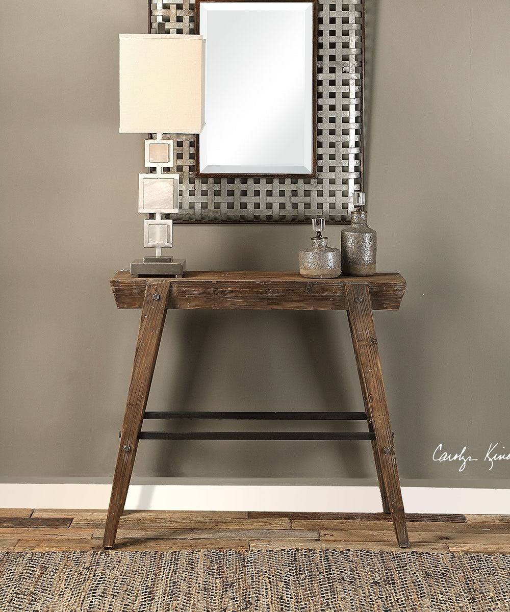 "32""H Hayes Wooden Console Table"
