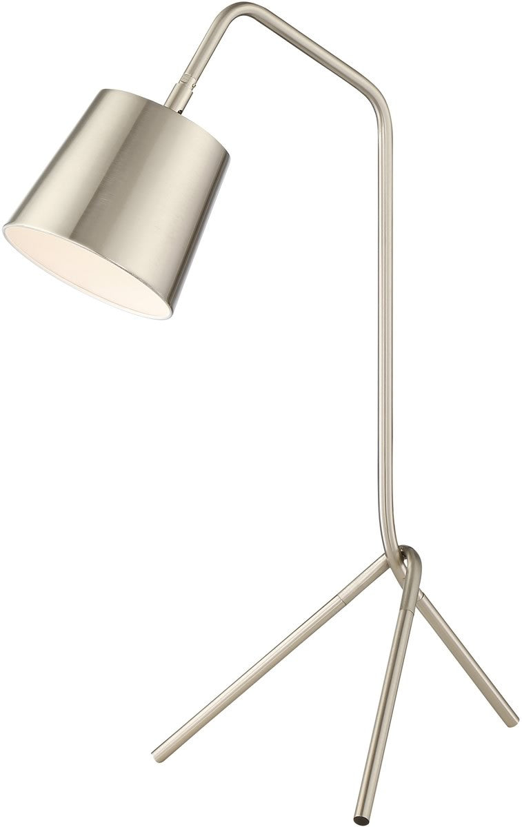 Quana 1-light Table Lamp Brushed Nickel