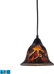 Firestorm 1-Light LED Pendant Dark Rust