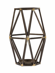 Devo Candle Holder Black/Gold