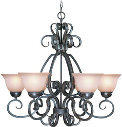 0-004805>Sheridan 6-Light Chandelier Forged Metal