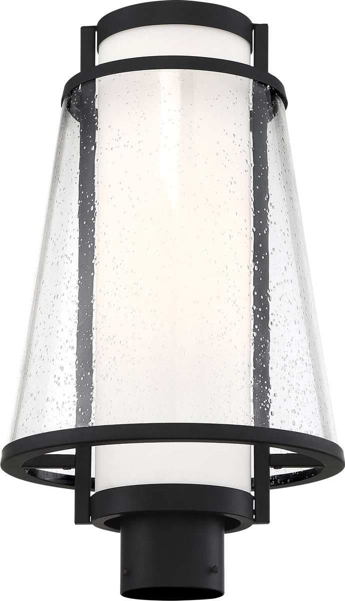 Anau 1-Light Outdoor Matte Black / Glass