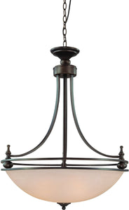 Seymour 4-Light Pendant Light Oiled Bronze