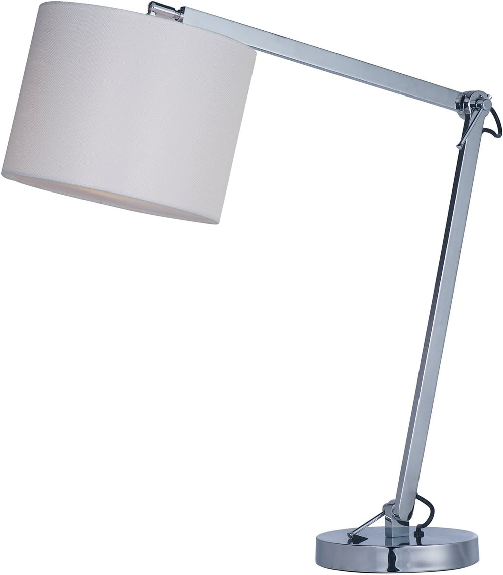 Hotel LED 1-Light Table Lamp Polished Chrome