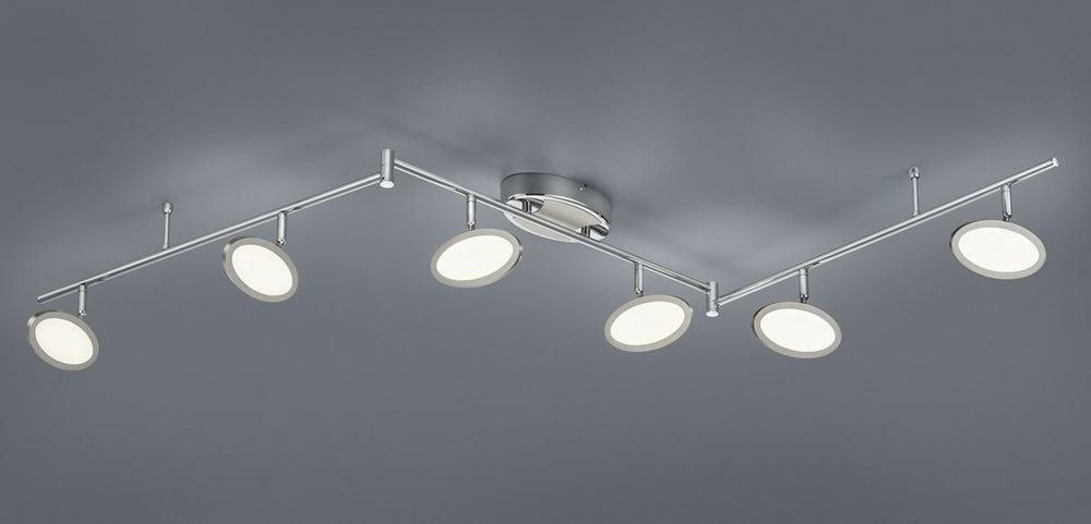 Duellant LED Ceiling light Chrome
