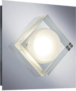 0-002050>Brooklyn LED Wall Sconce Chrome